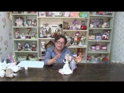 Curso de Modelado en pasta flexible de novios para Pastel. Parte 1