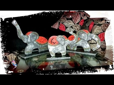 DIY: como pintar y decorar elefantes en mdf