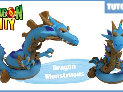 Dragon City ✰ Dragon Monstruous (Fase 3) Polymer Clay Tutorial ✰ Porcelana Fría