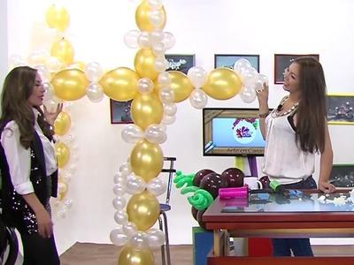 Globoflexia - Como hacer unas Cruz para Fiestas- Hogar Tv  por Juan Gonzalo Angel