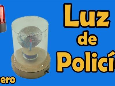 Luz de Carro de Policía Casero (muy fácil de hacer)