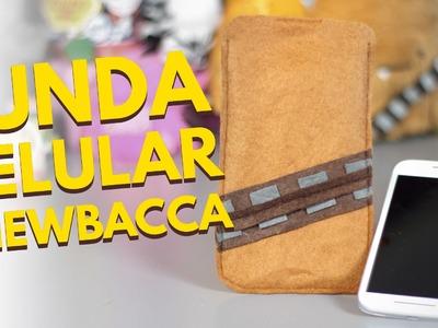 Manualidades con fieltro: Como hacer FUNDAS PARA CELULAR: Chewbacca. accesorios para celulares