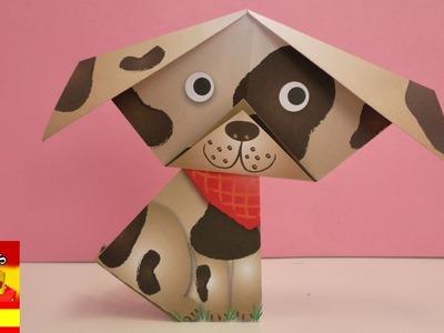 Origami fácil para niños | SES Creative | Perro