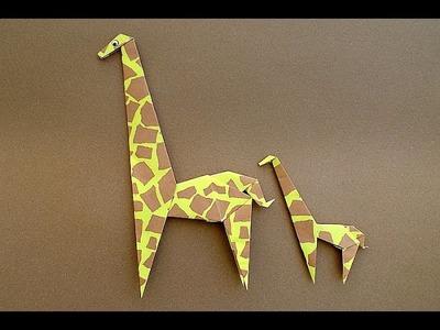 Origami Jirafas explicación paso a paso