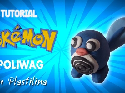 Pokemon. Tutorial Como hacer a Poliwag en Plastilina. How to make Poliwag with Plasticine