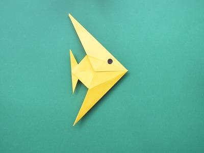 Сómo hacer un pez de papel – Origami