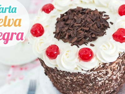 Tarta Selva Negra (Black Forest Cake) | Quiero Cupcakes!