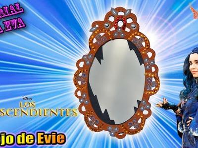 ♥ Tutorial: Espejo de Evie de Los Descendientes de Goma Eva (Foamy) ♥