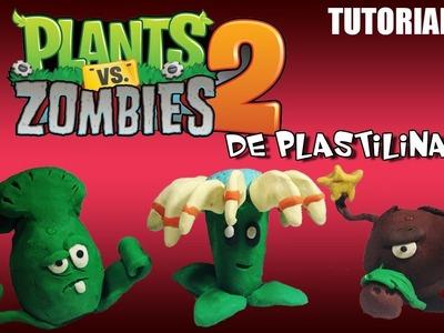 Tutorial Plantas Vs Zombies 2 de Plastilina de Plastilina