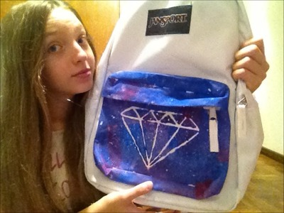 BACK TO SCHOOL! Decora tu mochila! GALAXIA -Marty Dominguez-