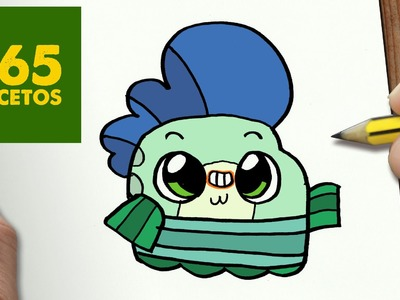 COMO DIBUJAR MILO KAWAII PASO A PASO - Dibujos kawaii faciles - How to draw a Milo