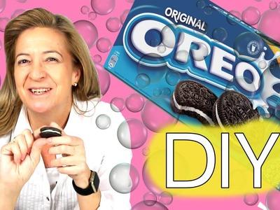 Cómo hacer jabón de Oreo. Jabón casero de galleta