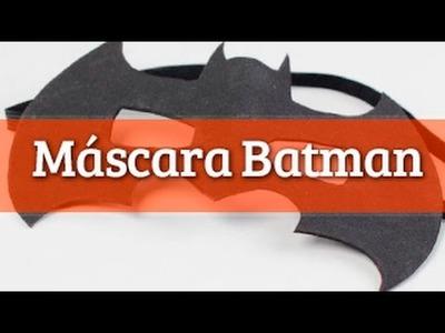 Cómo hacer una máscara de Batman