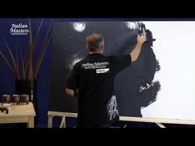 ¿cómo pintar una pared con efecto piedra?