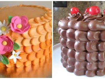 Decoración De Pastel En Forma De Pétalos - Madelin's Cakes