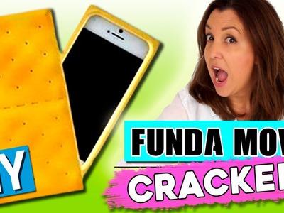 FUNDA para celular CASERA en forma de CRACKER * Fundas originales DIY