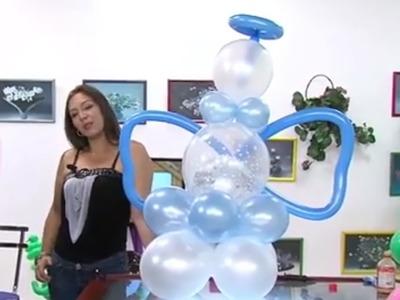 Globoflexia - Como hacer un Angel con Globos para Fiestas - Hogar Tv  por Juan Gonzalo Angel