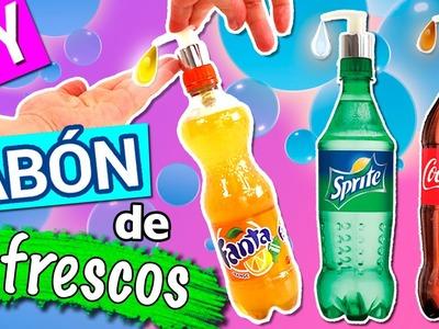 JABÓN de COCA-COLA, FANTA y SPRITE * Jabón CASERO de refrescos