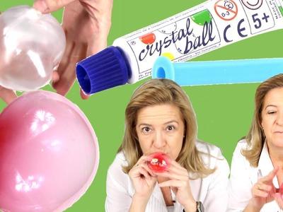 Juguete Crystal balls:  revisión y copia. Pompas de Slime