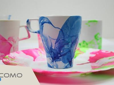 Manualidades fáciles - Decorar una taza