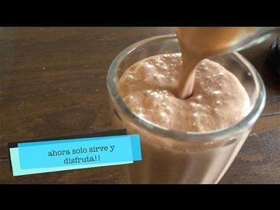Receta rápida y fresca!: Malteada de Nutella