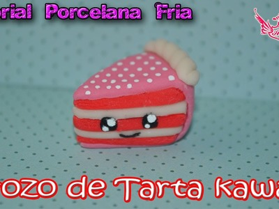 ♥ Tutorial: Trozo de Tarta Kawaii de Porcelana Fría Casera  ♥