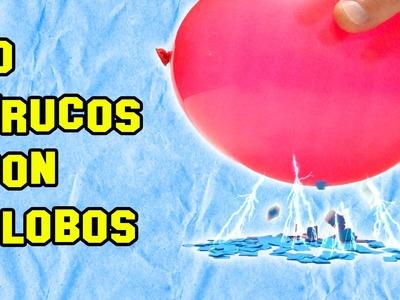 ✔ 10 Trucos Con Globos | Tricks With Balloons