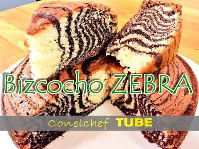 Bizcocho zebra muy fácil y delicioso!