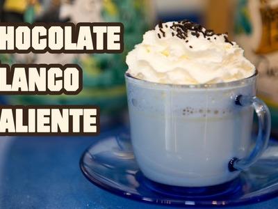Chocolate Blanco Caliente con Chantilly