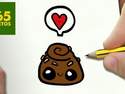 COMO DIBUJAR BOMBON KAWAII PASO A PASO - Dibujos kawaii faciles - How to draw a Chocolate