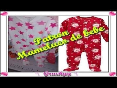 Como hacer el trazo del mameluco para bebe o cualquier edad