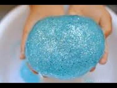 Como hacer Slime de Frozen!!!