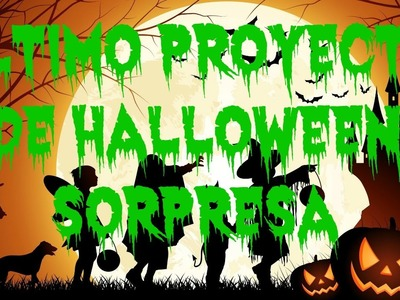 Proyecto final de halloween