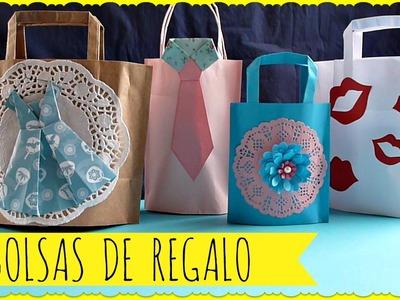 Bolsas de Regalos para el Día de la Madre, Cómo hacer Bolsas de Regalo, Día de las Madres