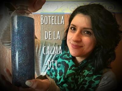 Botella de la calma para niños | Calming Glitter Jar