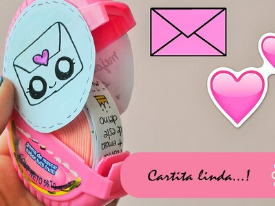 CARTA EXPRESS - DIY - REGALO - MINI TUTO:::. ♡ ♡ ♡