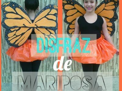 Como hacer un disfraz de mariposa - Material reciclado | Marialis
