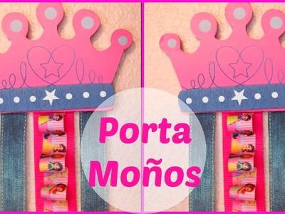 Como Hacer Un Porta Moños De Madera | Bow Holder | Super Facil | Economico | Paso A Paso | Princesas
