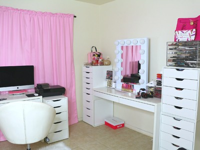 Cuarto De Maquillaje.Estudio (Makeup Room Tour)