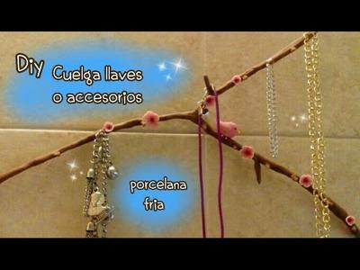 Cuelga llaves o accesorios PORCELANA FRIA Diy idea para regalar a Mamá