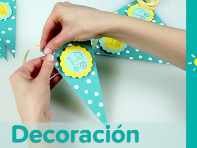 DIY Decoración Para Baby Shower: Guirnalda Decorativa | Pampers