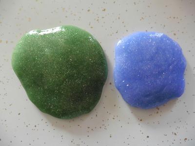 DIY- Slime con brillo - (2 ingredientes)