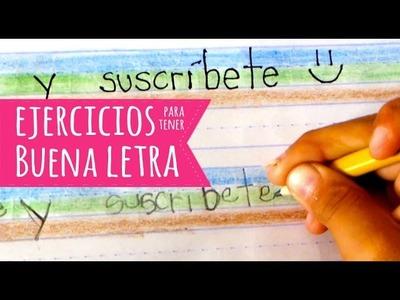 """Ejercicios para tener buena letra (niños lectoescritura)- Luciana """"Uki"""""""