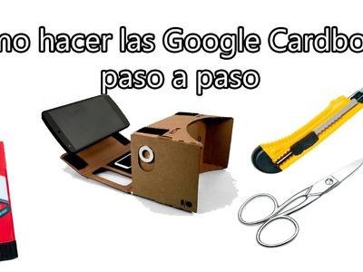 Google Cardboard - Cómo hacer las gafas de realidad virtual low cost