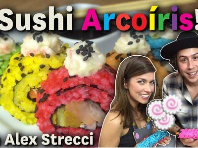 ¡Sushi Arcoíris! con Alex Strecci. Dacosta´s Bakery