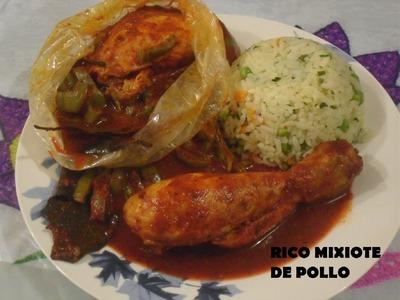 RECETA DE RIQUISIMOS MIXIOTES DE POLLO ( LOS ANGELES COCINAN )