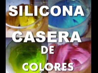 Silicona de colores casera - HOME COLORS SILICONE