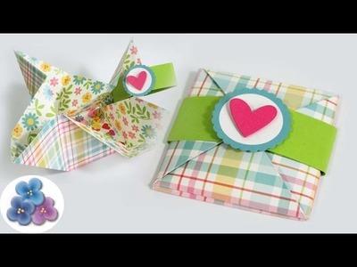 Tarjetas de Cumpleaños Creativas Pop Up y Día de la Madre *Manualidades Origami* Pintura Facil