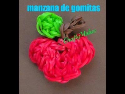 Tutoriales:♥ Manzana de gomitas (con telar)