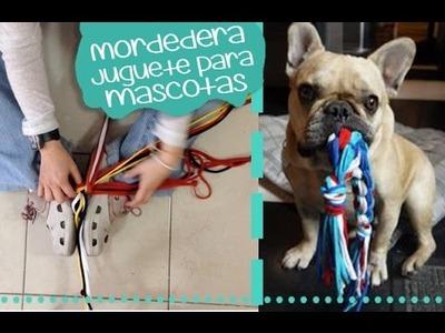 Chuladas Creativas :: Juguete para Mascota con Playeras o Retazos